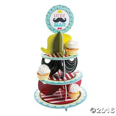 Little Man Cupcake Holder