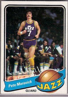 1979-80 Topps #60 Pete Maravich  $5.00 Books $10.00