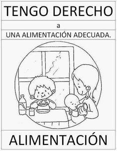 tareitas: DERECHO A LA ALIMENTACIÓN Middle School Spanish, Science Topics, English Activities, Human Rights, Diy For Kids, Kindergarten, Preschool, Childhood, Spelling