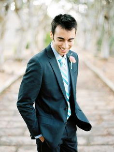 Shannon Leahy Events - Carnival Inspired Wedding - San Rafael - Groom - Suit - Candid