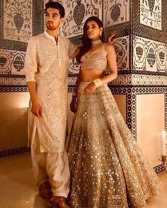 Abhinav Mishra's 'The Royals' SS 2020 Collection Is Filled With Splash Of Co. - Abhinav Mishra's 'The Royals' SS 2020 Collection Is Filled With Splash Of Colours! Couple Wedding Dress, Wedding Dresses Men Indian, Indian Gowns Dresses, Indian Bridal Outfits, Indian Bridal Wear, Indian Fashion Dresses, Indian Designer Outfits, Royal Indian Wedding, Indian Weddings
