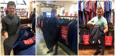 Unbeatable bargains @ EJ Menswear!! Our 50 EURO SALE is still in full flow here at EJ Menswear!! ANY 2 TROUSERS = €50 ANY 2 JEANS = €50 ANY 2 SHIRTS = €50 ANY 3 POLOS = €50 ANY 3 T-SHIRTS = €50 ALL BLAZERS = €50 SUITS = YOU WONT BELIEVE IT UNTIL YOU SEE IT!!