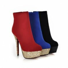 Glamour High ladies Boots (In 3 Colors)