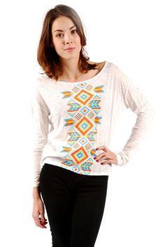 Julie Navajo-Print T-shirt