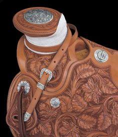 Dale Harwood Saddle (detail)-SR