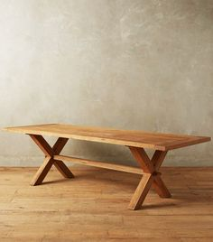 Anthropologie Recycled Teak Table