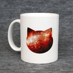 For the cat lover who's fascinated by the universe. $15