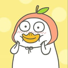 Duck Emoji, Funny Profile Pictures, Cute Little Drawings, Cute Messages, Kawaii Wallpaper, Aesthetic Collage, Funny Wallpapers, Cute Stickers, Cute Cartoon