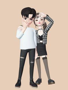Gif Dance, Hijab Cartoon, Anime Love, Cartoon Art, Cute Wallpapers, Animated Gif, Emoji, Rave, Korea