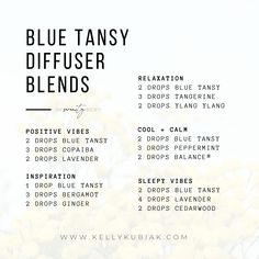 Diffuser Blends using Blue Tansy Essential Oil Doterra Blends, Doterra Essential Oils, Blue Tansy Essential Oil, Diffuser Blends, Essentials, Education, Diy, Inspiration, Recipes