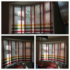 Bespoke wooden venetian blinds #hannanblinds