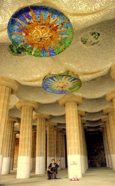 Barcelona - park guell. I adore Barcelona, I've always wanted to go.