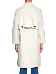 Double-breasted cotton trench coat | Trademark | MATCHESFASHION.COM