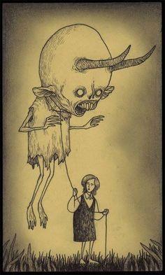 130 ilustraciones macabras de John Mortensen - Taringa!