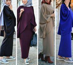 حجاب Hijab Fashion Summer, Abaya Fashion, Fashion Wear, Modest Fashion, Women's Fashion Dresses, Iranian Women Fashion, Islamic Fashion, Muslim Fashion, Habits Musulmans