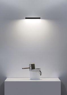 Lámpara de pared LED de metacrilato LINET by DAVIDE GROPPI diseño Omar Carraglia