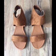 LAST ONE-Hazel Boho Tassel Sandal Hazel Suede sandal with tassel zipper. With warm weather come fringe!  Runs true to size Shoes Sandals