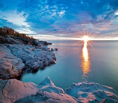 Lake Superior Sunrise~	my favorite place in MN besides home...