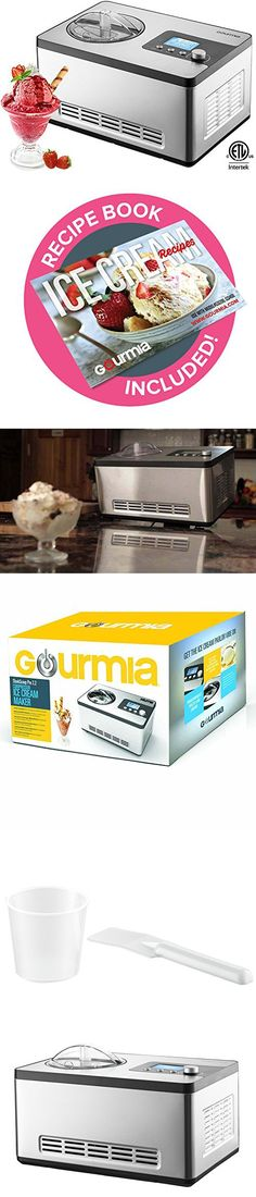 Ice Cream Maker Homemade Gelato Compressor Natural Ingredients Yogurt Sorbet