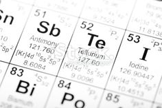 Antimony (Sb)- Has the atomic mass of 121.76. Its Atomic number is 51 and it closely located to Tellurium and Bismuth and Arsenic. We know that since they are closely together they are closely related meaning that they probably do some of the same things.