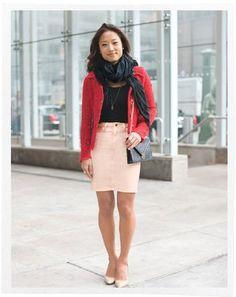 Three Ways to Look Taller : Style & Fashion : Lucky Magazine