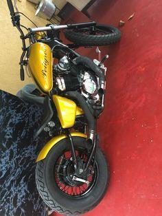 my bike honda 600 custom bobber