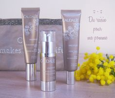 Caudalie. Best skin products...especially the day radiance cream