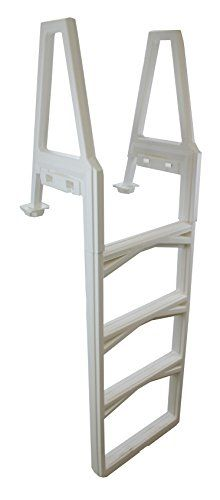 "Confer 635-52 In-Pool Above Ground Pool Ladder with Mat | 63552 + 87953 > Confer 635-52 In-Pool Above Ground Ladder Does not require barrier Adjusts to fit deck heights 46"" to 56"" Check more at http://farmgardensuperstore.com/product/confer-635-52-in-pool-above-ground-pool-ladder-with-mat-63552-87953/"