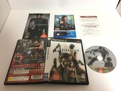 PlayStation 2 Soft BIOHAZARD 4 PS2 game CAPCOM Japan import NTSC-J F/S