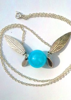 Legend of Zelda Naviinspired fairy necklace  I could try to diy  but i would drastically fail...