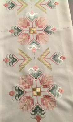 Brazilian Embroidery How To Do Hardanger Embroidery, Learn Embroidery, Hand Embroidery Patterns, Embroidery Kits, Ribbon Embroidery, Cross Stitch Embroidery, Embroidery Designs, Bargello Needlepoint, Broderie Bargello