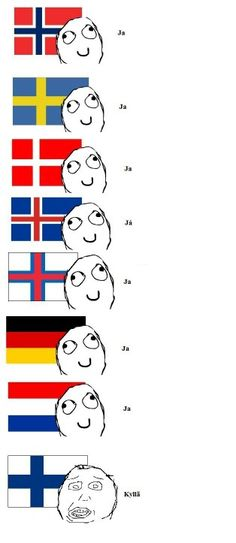 Learn some finnish. I can verify this, I'm a finn and I (really) speak this language ; Funny Memes, Hilarious, Jokes, Finnish Memes, Learn Finnish, Learning German, Finnish Words, Finnish Language, Past My Bedtime