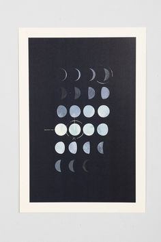 Paul Tebbott Must Be The Moon Art Print - Urban Outfitters