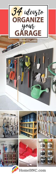 Garage Organization Projects