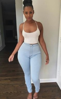 Date hot sexy thick black women on the hottest black dating app Summer Outfits, Girl Outfits, Casual Outfits, Cute Outfits, Fashion Outfits, Curvy Fashion, Look Fashion, Girl Fashion, Looks Plus Size