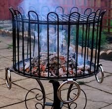 WROUGH IRON BBQ GRILL - Google Search & MESA Delaware Buffet Silverware Caddy Dinner Plate Holder Antiqued ...
