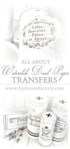 All about waterslide decal paper transfers - Totul despre transferul de imagine cu ajutorul hartiei de decal waterslide copy
