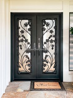 No matter the style, our iron doors are built with authenticity! 💡 About this design: Custom Iron Door ☎️️ 877-205-9418 🌐 www.iwantthatdoor.com