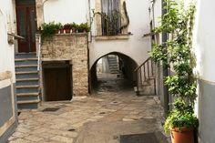 Centro storico di Turi, Bari. Italia.