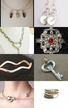 Sterling Silver Treasures by Marie on Etsy--Pinned with TreasuryPin.com
