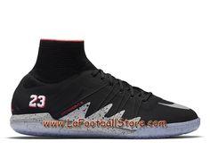 Nike HypervenomX Proximo IC NJR x Jordan Chaussure de football en salle pour Homme Noir/Grey