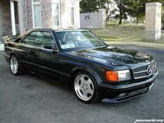 Mercedes S-class Coupe w126