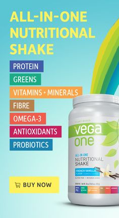 20 grams plant-based protein, 6 servings greens, 50% DV vitamins and minerals, and more, all in one delicious scoop. Buy Vega One now at Vega eStore.