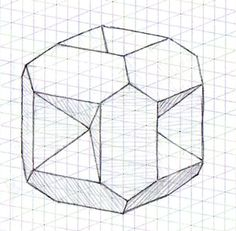 How to Draw Cool Stuff : Draw a Hole in Grid Paper with