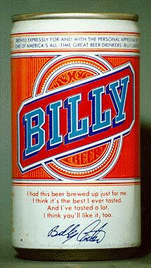 Billy beer can
