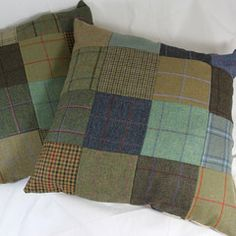 Oversized Tweed Cushions