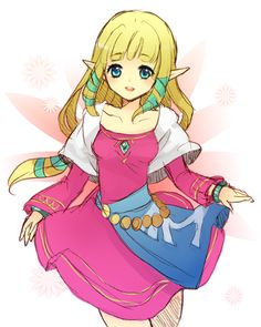 Zelda, The Legend of Zelda: Skyward Sword