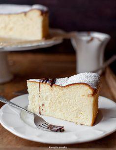 Traditional Polish Cheesecake.