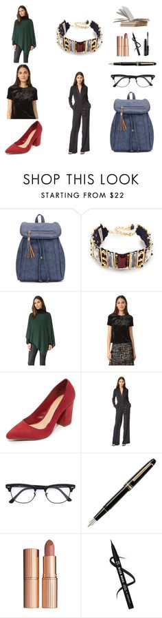 """""""Fashion Squad!!"""" by stylediva20 on Polyvore featuring Nocturne, White + Warren, Only Hearts, Schutz, Rachel Zoe, Ray-Ban, Montblanc, Charlotte Tilbury and MAC Cosmetics"""