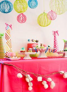 Декор для летней вечеринки